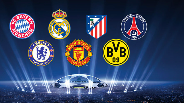 The champions league quarter finals the best europe has to offer