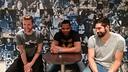 Mickael Robin, Cédric Sorhaindo et Nikola Karabatic / Photo FCB