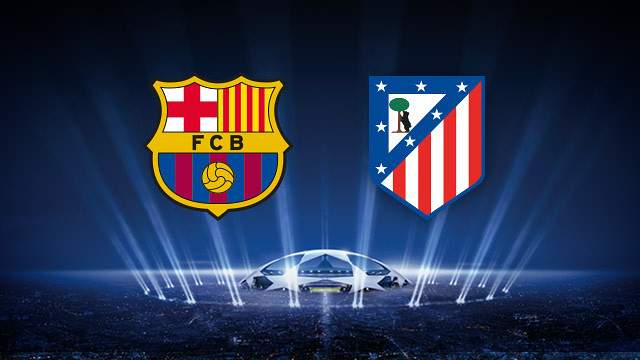 FC Barcelona and Atlético Madrid in the quarter-finals of the Champions League