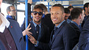 Neymar and Adriano arriving in Madrid / PHOTO: MIGUEL RUIZ - FCB