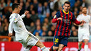 Cristiano Ronaldo and Lionel Messi / PHOTO: MIGUEL RUIZ - FCB
