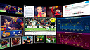 Graphic of Barça's online presence
