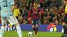 Jordi Alba in action against Celta.