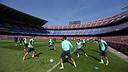 The players in training / PHOTO: MIGUEL RUIZ-FCB