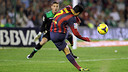 Pedro, in the game from then first phase / PHOTO: MIGUEL RUIZ-FCB