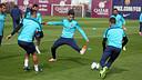 First team squad in training / PHOTO: MIGUEL RUIZ – FCB