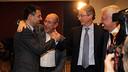 Bartomeu, Arroyo, Faus and Rossich / PHOTO: MIGUEL RUIZ-FCB