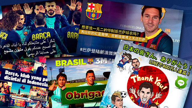 FC Barcelona, first social media club in the world
