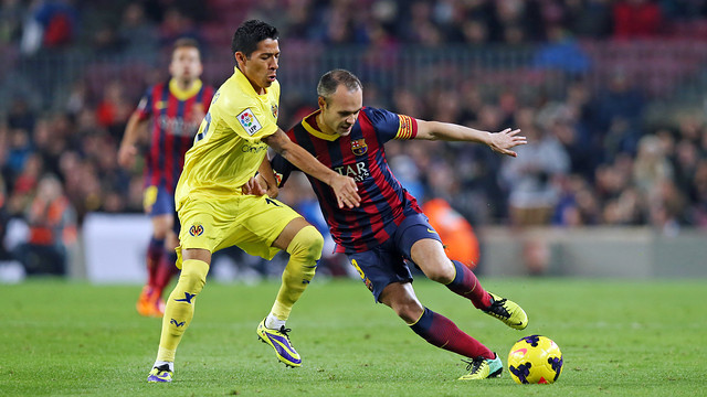Barça beat Villarreal 2-1 at the Camp Nou / PHOTO: MIGUEL RUIZ-FCB