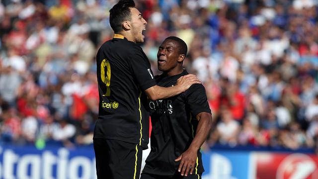 Munir and Adama / PHOTO: MIGUEL RUIZ - FCB.