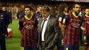 Martino, decepcionado tras el partido. FOTO: MIGUEL RUIZ - FCB
