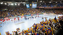 The Palau Blaugrana has witnessed many successes over the years / PHOTO: FCB ARCHIVE