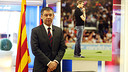Josep Maria Bartomeu  / PHOTO: MIGUEL RUIZ - FCB