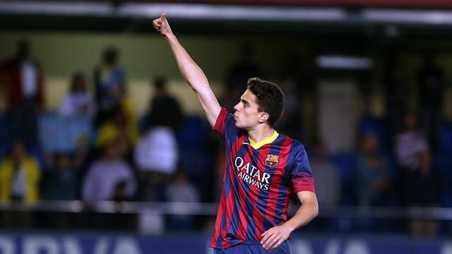 Bartra, en el partit contra el Vila-real / FOTO: MIGUEL RUIZ - FCB