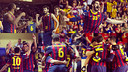 The teams dedicate their victories to Tito Vilanova