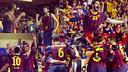 The teams dedicate their victories to Tito Vilanova