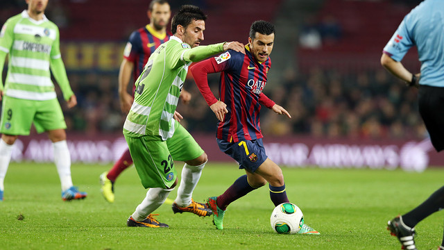 Barça met Getafe earlier this season in the cup. PHOTO: MIGUEL RUIZ-FCB.