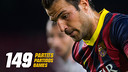 Cesc Fabregas #149 matches