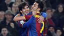 HIGHLIGHTS - FC Barcelona - Atlético de Madrid, 3-0 (League, season 2010/11)