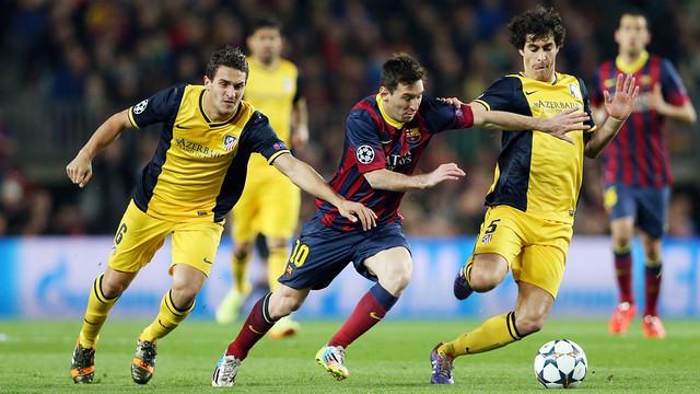 Messi will need to find a way through Atlético's rock-solid defence.  PHOTO: MIGUEL RUIZ-FCB.