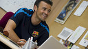 Luis Enrique. PHOTO: Miguel RUIZ-FCB.