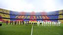 The Mosaic at the Barça-Madrid game/ PHOTO: MIGUEL RUIZ-FCB