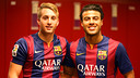 Deulofeu and Rafinha are back at Barça. PHOTO: MIGUEL RUIZ-FCB.