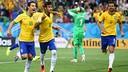 Neymar scores against Croatia. PHOTO: fifa.com
