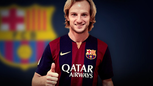 Ivan Rakitic, new FC Barcelona player