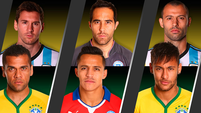 Barça are still very well represented at the Brazil 2014 World Cup