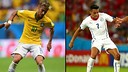 Neymar and Alexis will lead their countries' attacks this evening / PHOTO: FIFA.COM
