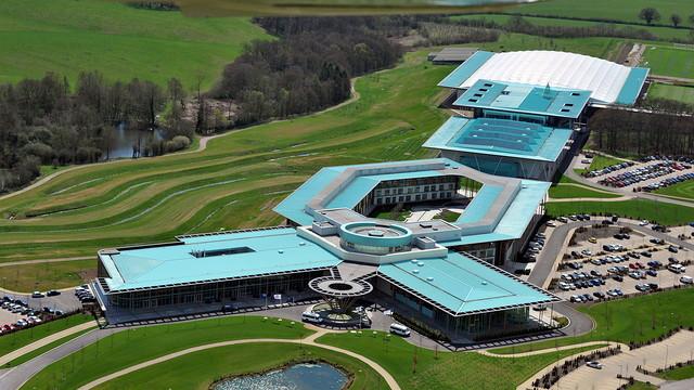 Imatge aèria del St. George's Park / FOTO: THE FA