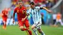 Messi, contre la Belgique. PHOTO: fifa.com