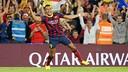 Alexis Sánchez will play for the Gunners next season / PHOTO: MIGUEL RUIZ-FCB