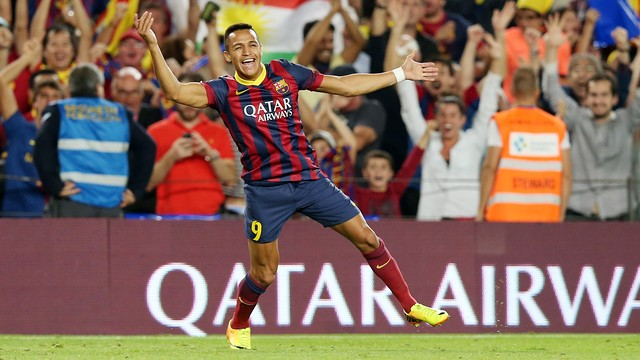 Alexis Sánchez will play for the Gunners next season / PHOTO: MIGUEL RUIZ-FCB