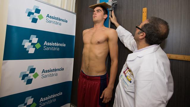Satoransky taking his medical tests