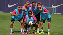Many Barça B players will get their shot at first-team action this evening / PHOTO: MIGUEL RUIZ-FCB