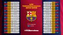 Calendario Liga BBVA 2014-15