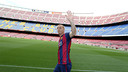 Jérémy Mathieu will be a valuable addition to the Barça defence / PHOTO: MIGUEL RUIZ - FCB