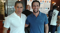 Sylvinho and Belletti at Deco's testimonial