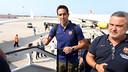Claudio Bravo s'ha incorporat a la pretemporada en el viatje cap a Anglaterra / FOTO: MIGUEL RUIZ - FCB