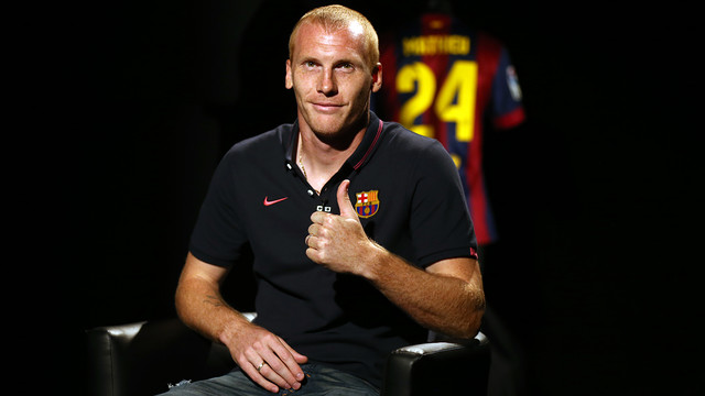 "Jérémy Mathieu: ""Im ready for the pressure"""