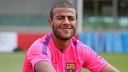 Barça's Rafinha was in action against Palestine / PHOTO: MIGUEL RUIZ - FCB