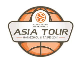 El logo de l'Euroleague Basketball Asian Tour