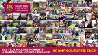 Image of the #CAMPNOUEXPERIENCE selfie contest