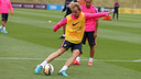 Rakitic, one of the 25 players at training / PHOTO: MIGUEL RUIZ - FCB