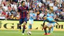 Sergio Busquets excelled against Napoli / PHOTO: MIGUEL RUIZ - FCB