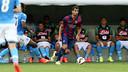 Montoya en una imagen del partido de pretemporada en Ginebra / FOTO: MIGUEL RUIZ-FCB