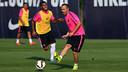 Andrés Iniesta is getting ready for the Joan Gamper Trophy/ PHOTO: MIGUEL RUIZ - FCB