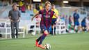 El Barça B cau amb el Llagostera al Miniestadi / FOTO: GERMÁN PARGA - FCB